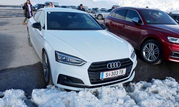 Audi A5 G-Tron im James Bond Test / Bild: Bernhard Wittmann