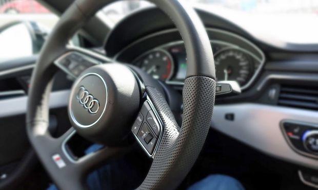 Luxuriöser Innenraum im Audi A5 G-Tron