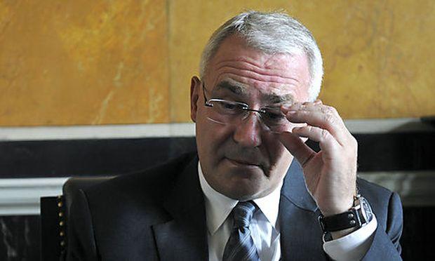 MARTIN GRAF, dritter Präsident des Nationalrat