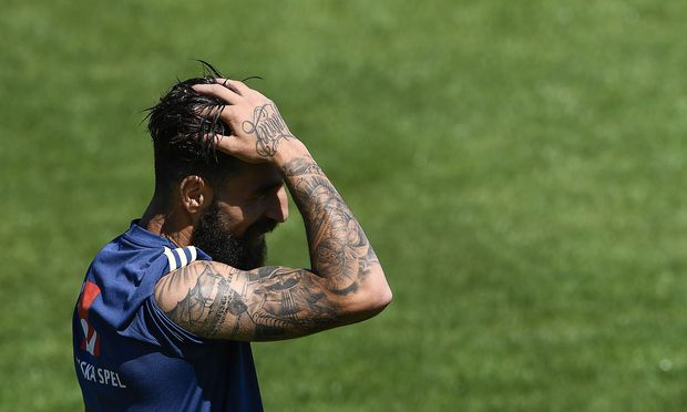 Tattoos sind bei Profifußballern sehr beliebt.
