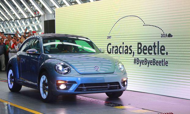 Die zweite Generation des Beetle wurde seit 2011 gebaut