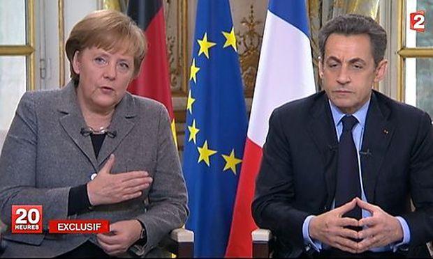 Merkel Sarkozy Interview