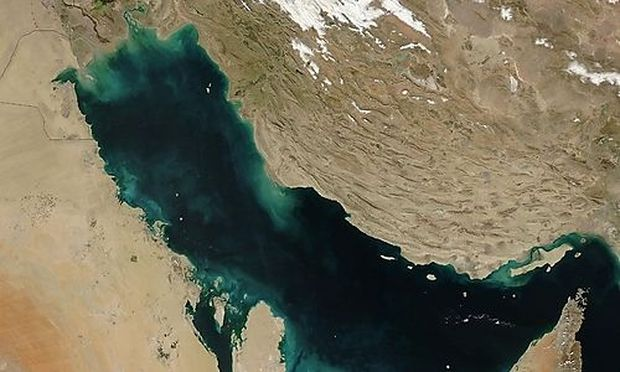 US SATELLITE PERSIAN GULF