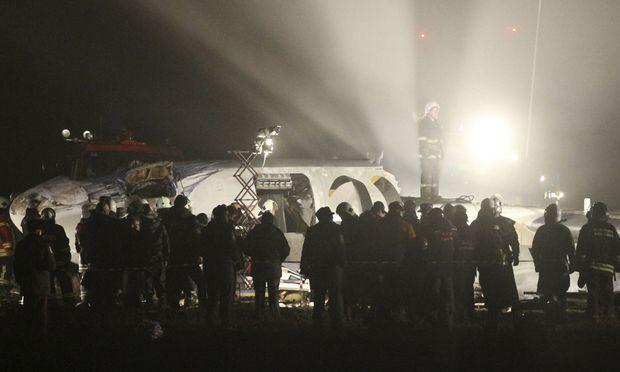 Tote Verletzte Flugzeugunglueck Ukraine