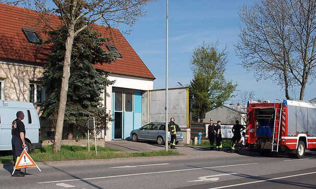 Unfallort in Eisenstadt