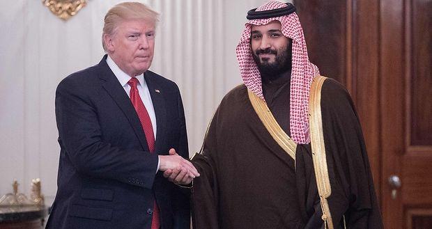 Saudischer Kronprinz zu Gast bei Trump