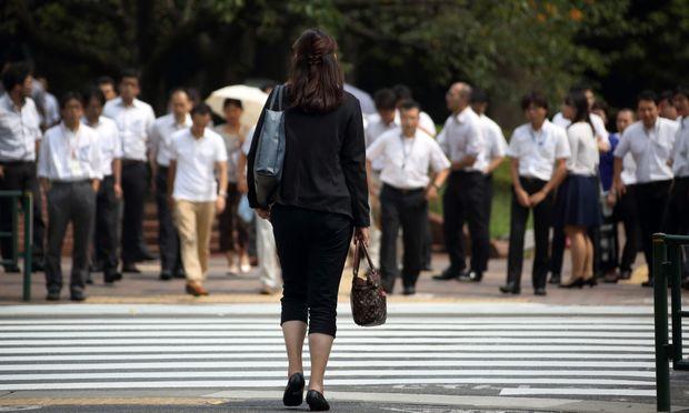 In Japan haben Frauen einen besonders schweren Stand in der Gesellschaft.