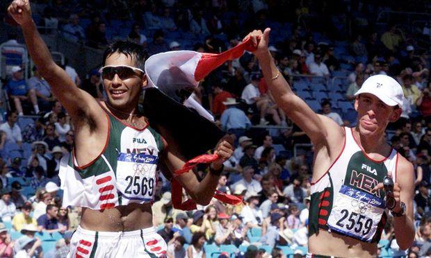 OlympiaZweiter Hernandez verlor ueberfall