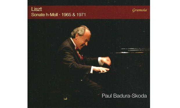 Liszt. Die h-Moll-Sonate, 1965 und 1971 von Paul Badura-Skoda gespielt.