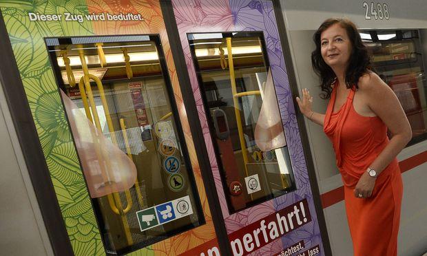 Kein Duft mehr in der U-Bahn: Stadträtin Ulli Sima wird das Pilotprojekt nach einem Nein der Fahrgäste nicht fortsetzen.