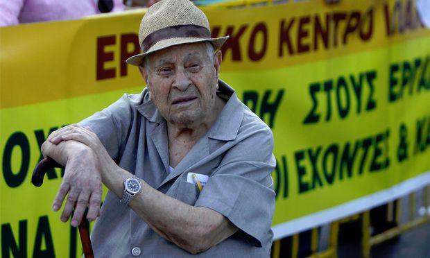 Griechenland Pensionisten steigt