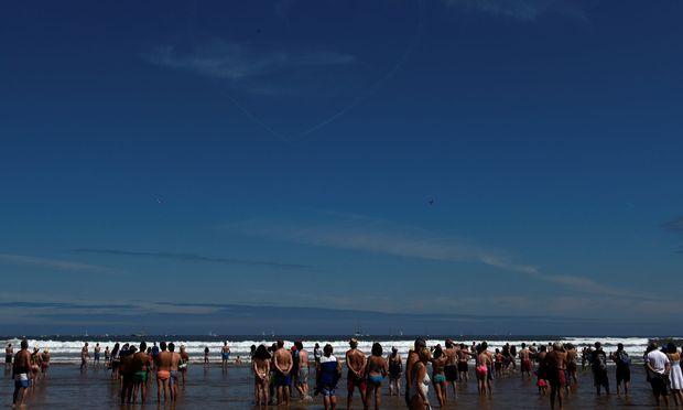 Am Strand von Gijón
