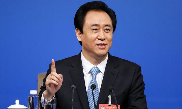 Evergrande Group Chairman Xu Jiayin