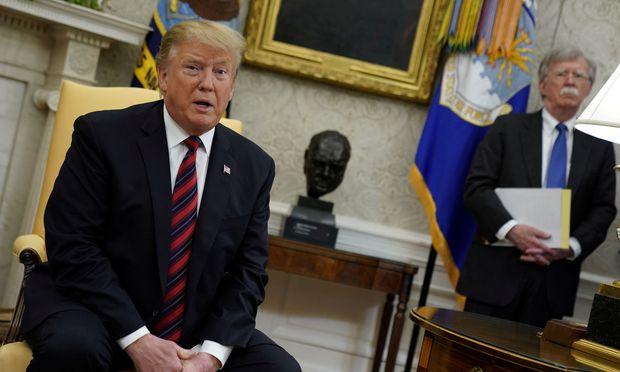In US-Medien machen Gerüchte die Runde, dass es zwischen Trumps Nationalem Sicherheitsberater John Bolton und anderen Regierungsmitgliedern erhebliche Meinungsverschiedenheiten zur Iran-Politik gibt