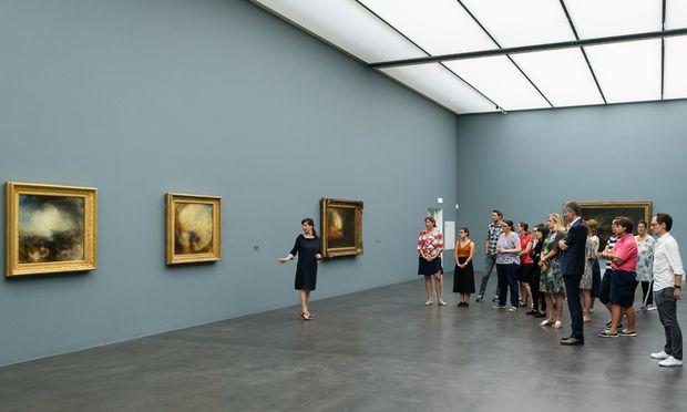 Romantisch: Turners Werke im Kunstmuseum.