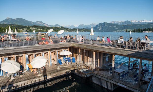 Einheimisch: Seebad Luzern