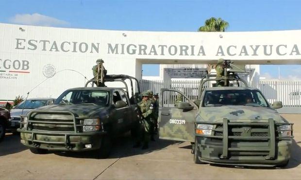 370 Kinder in Mexiko festgenommen