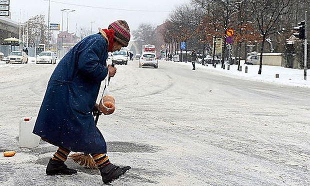 Schnee Kalt Mazedonien