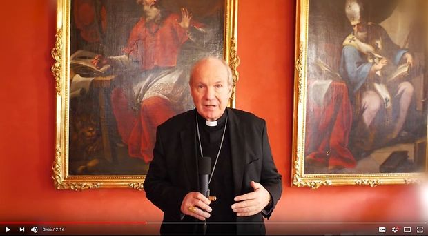 Kardinal Christoph Schönborn im Video