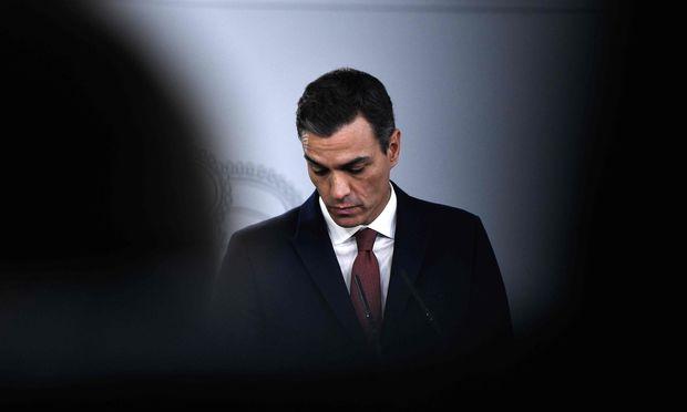 Ministerpräsidenten Pedro Sánchez.