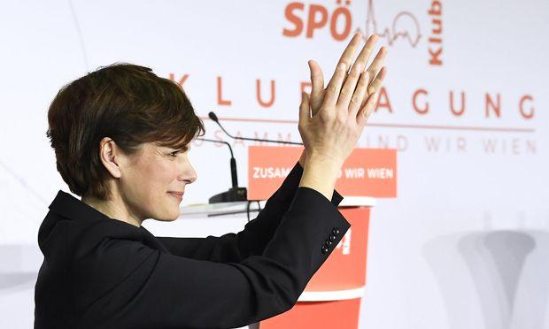 SPÖ-Bundesparteichefin Pamela Rendi-Wagner