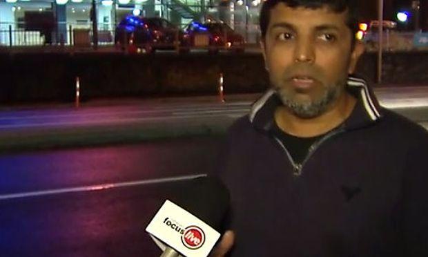 Der Zeuge Sayed Mazharuddin