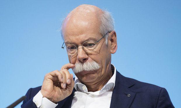 Daimler-Vorstandschef Dieter Zetsche verdiente im Vorjahr 8,6 Millionen Euro