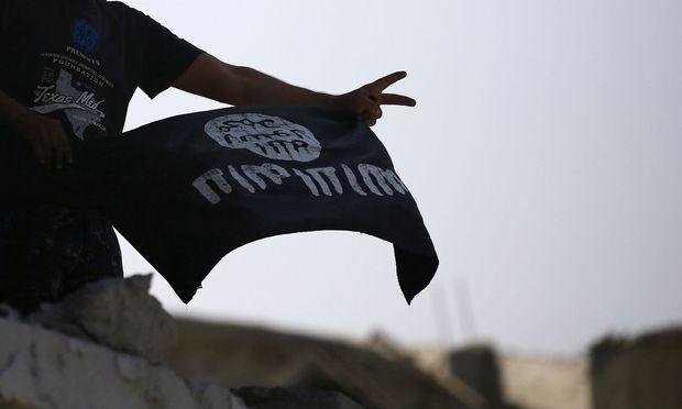 Symbolbild: Flagge des Islamischen Staates
