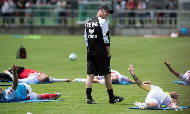 Trainingsauftakt .. 1. FC Koeln