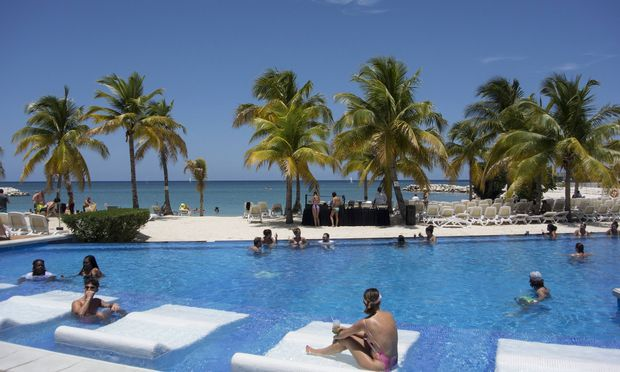 Jamaika Karibik RIU Resort Montego Bay Jamaika � PUBLICATIONxINxGERxSUIxAUTxONLY