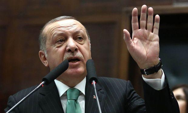 Erdogan verteidigte erneut den türkischen Einmarsch in Syrien