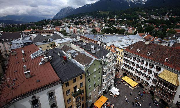Die Mieten sind in Innsbruck am höchsten