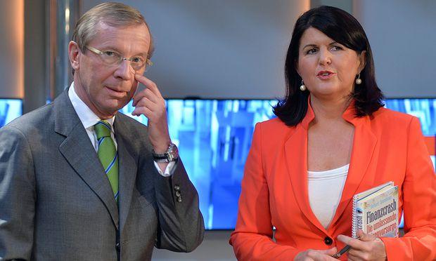Wilfried Haslauer und Gabi Burgstaller