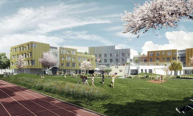 Am Nordbahnhof entsteht ein neues Stadtviertel.
