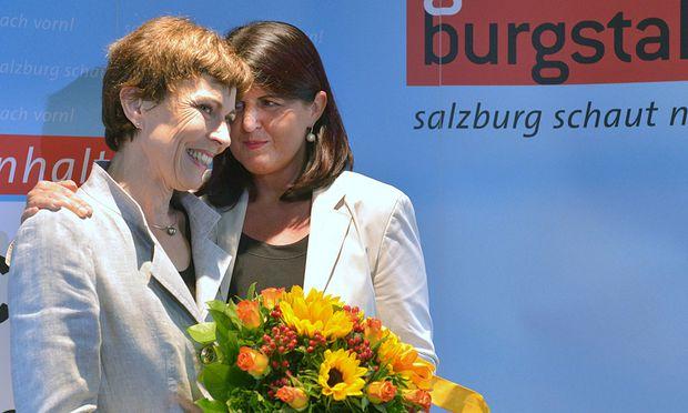Cornelia Schmidjell und Gabi Burgstaller.