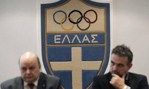 Geldsorgen im griechischen Olympiateam