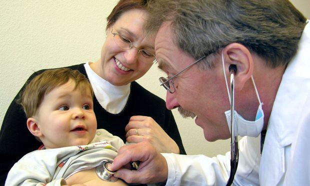 Beim Kinderarzt