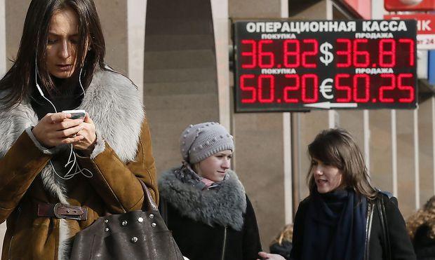 Der Rubel rollt nicht mehr so wie von Moskau erhofft
