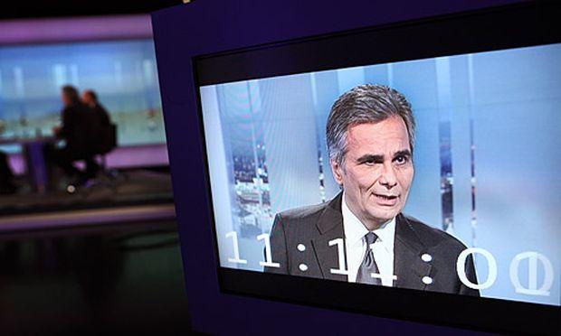 Bundeskanzler Werner Faymann in der ORF-Pressestunde