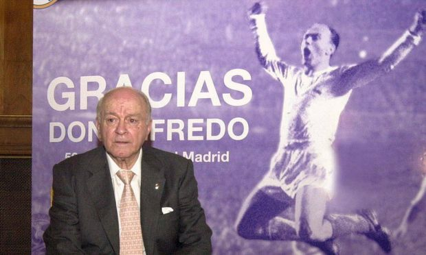 Alfredo di Stefano im Jahr 2003
