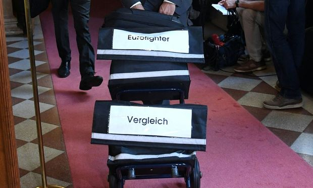 Symbolbild: Eurofighter-U-Ausschuss