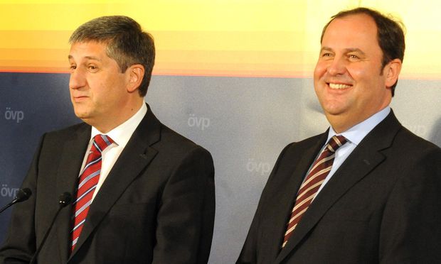 Michael Spindelegger und Josef Pröll