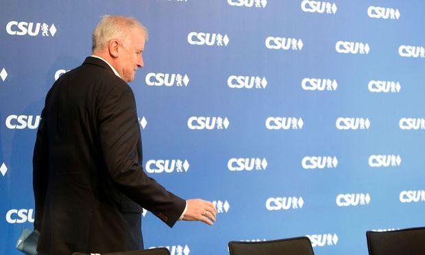 CSU meeting in Munich