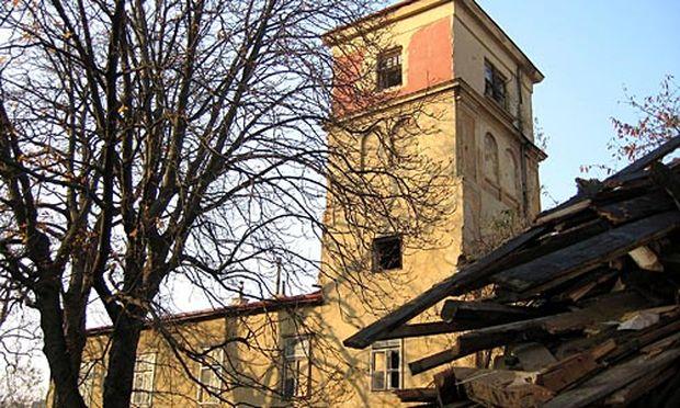 Die Kornhäusel-Villa aus dem Jahr 1804.
