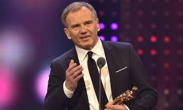 Hielt die kritischste Rede des Abends: Armin Wolf, Sieger in der Kategorie Information.