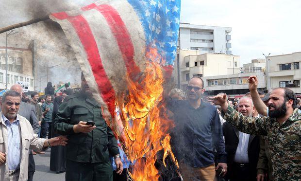 Bisher gab es nur vereinzelte Zusammenstöße zwischen Amerikanern und Iranern am Golf. Doch nun steigt das Konfliktpotenzial beträchtlich.
