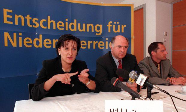 Die Entscheidung ist gefallen: Johanna Mikl-Leitner übernimmt den Landeshauptmann-Sessel von Erwin Pröll.