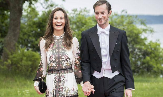 Pippa und James Matthews. / Bild: (c) Imago
