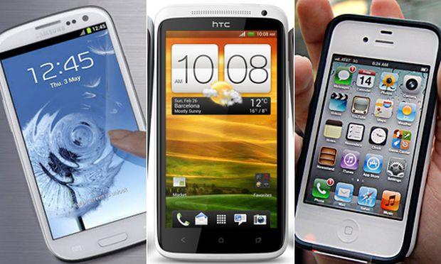 Vergleich Galaxy iPhone