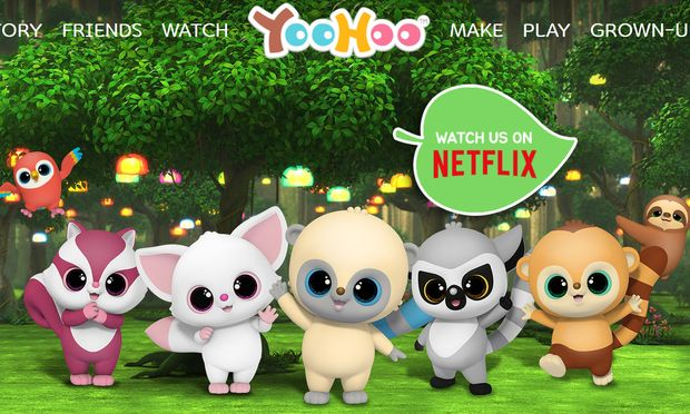 Screenshot der Yoohoo-Website. / Bild: yoohoo.auroraworld.com